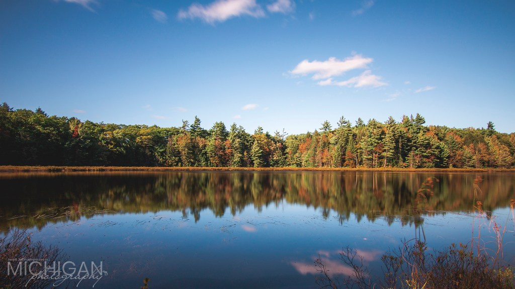 Early Autumn at Lost Lake in the Porcupine Mountains
