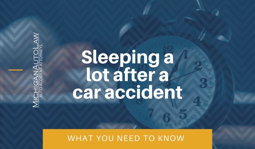 Sleeping A Lot After Car Accident: What You Need To Know