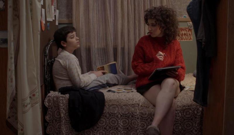 "Hersh Powers and Sera Barbieri in ""Potato Dreams of America"""