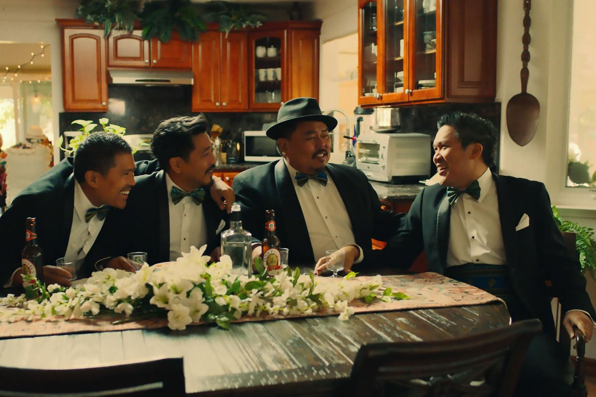 From Northern California to The Philippines, four brothers confront their issues with love, family, and culture, surrounding a highly controversial Filipino wedding. Told in four vignettes with cockfights, adultery, romance, food, and family.