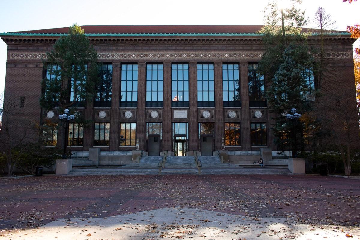Harlan Hatcher Graduate Library.