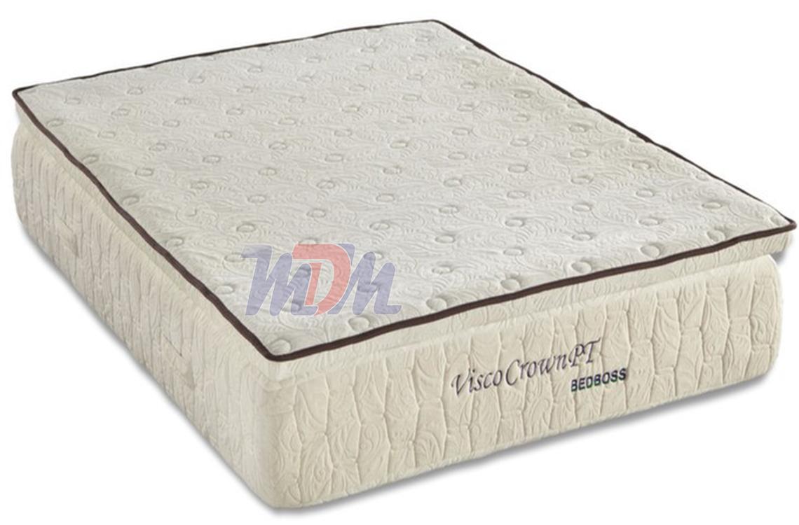 Crown Pillowtop  Memory Foam Mattress from The Bed Boss