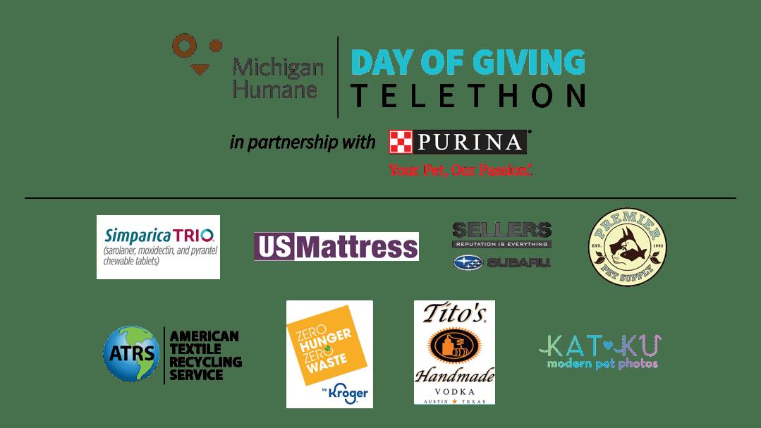 Michigan Humane Telethon 2021 Sponsors