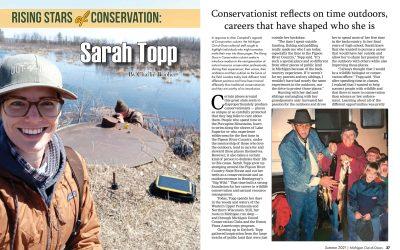 Rising Stars of Conservation: Sarah Topp