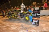 A.J. Ward won the IMCA Modified feature Friday May 1, 2015 at Tri-City Motor Speedway. (Courtesy of Tri-City Motor Speedway)