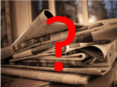 The future of print publication is an open question.