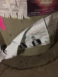 Shapiro Vandalism
