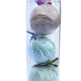 Fizzing Bath Bombs 3Pk