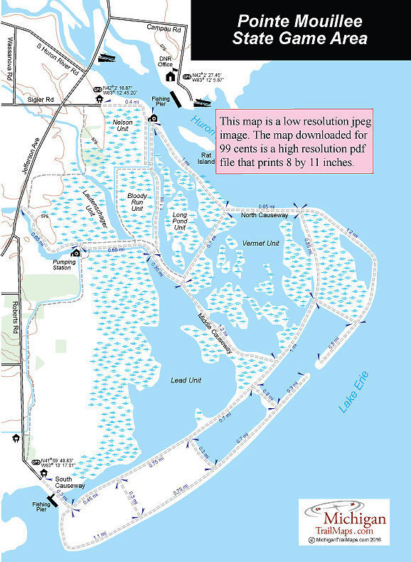 Pointe Mouillee State Game Area