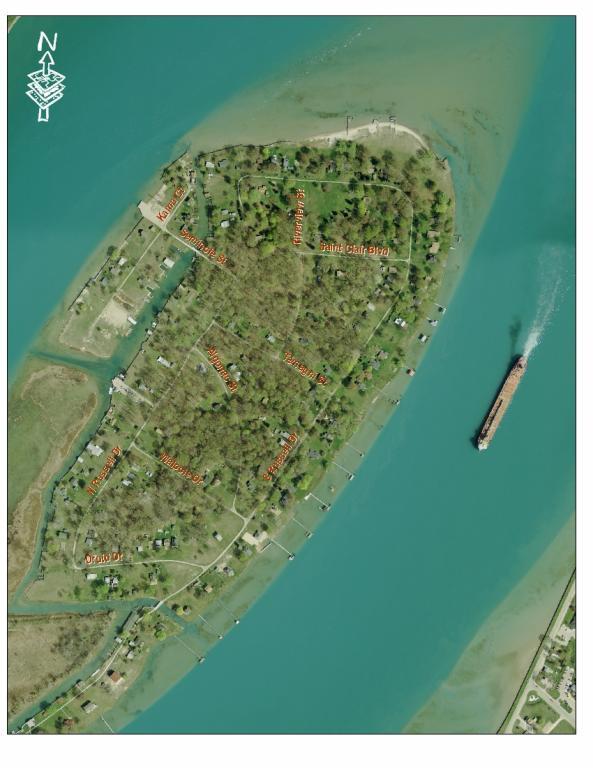 Russell Island Loop  Michigan Water Trails