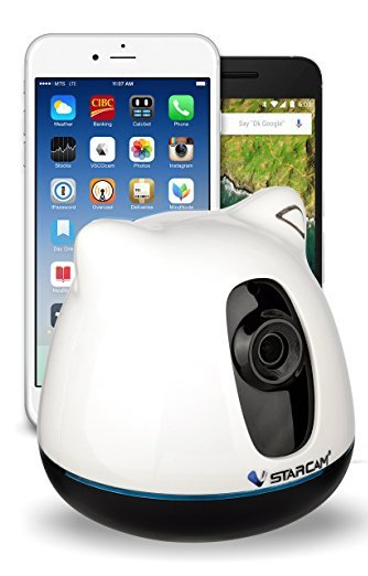 1. Nanny Cam HD Baby Monitor With Wi-Fi and Video Camera