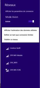 Réseaux sous Windows 8.1
