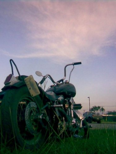 Bike at Sunset