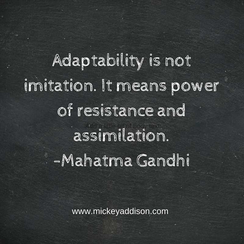 Monday Motivation - Gandhi