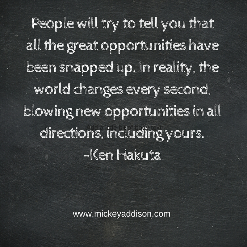 Monday Motivation - Hakuta