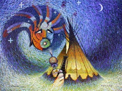 Virgil J Nez  Biography  The Art of Painting  Navajo Indian