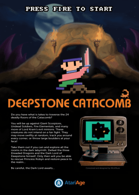 Deepstone Catacomb Original Flyer