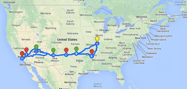 Convoy Map
