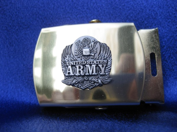 Army Web Belt With Buckle Mick' Military