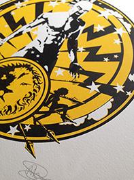 Ares god of war print
