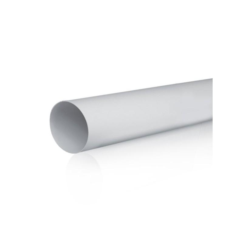 Tubo redondo diametro 150mm Longitud 1500mm  PVC