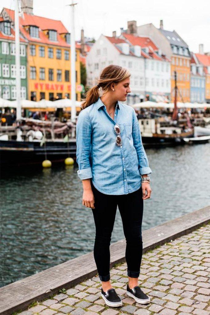 Como Combinar Una Camisa Vaquera Los 10 Mejores Looks Moda Tendencias Y Economia Circular Micolet