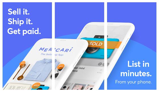 Mercari es una aplicación móvil para vender ropa que no usas