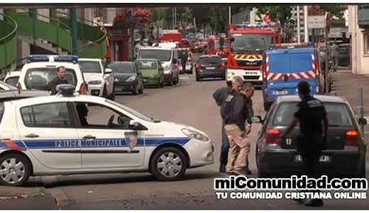 Francia: ISIS asesina a sacerdote en Iglesia de Normandía