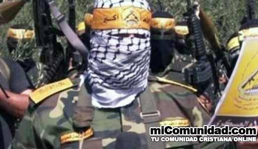 Milicia palestina Fatah se prepara para la guerra contra Israel
