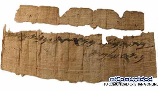 Papiro hebreo de 2.700 años menciona Jerusalén