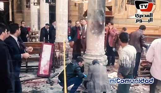 Egipto: ISIS reclama responsabilidad por ataque suicida en iglesia