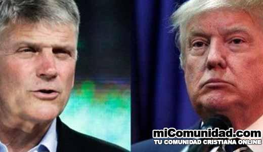 Franklin Graham: Dios actuó en la elección de Trump no Rusia