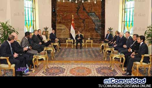 """Profético e histórico"" Reunión del presidente egipcio con los evangélicos estadounidenses"