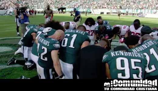 La fe de los Philadelphia Eagles