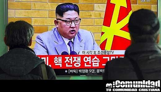 "Kim Jong-Un vuelve a amenazar a Donald Trump ""Tengo el botón nuclear al alcance de mi mano"""
