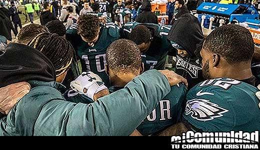 'Toda la gloria pertenece a Dios': la fe de las Águilas de Filadelfia ganadores del Super Bowl