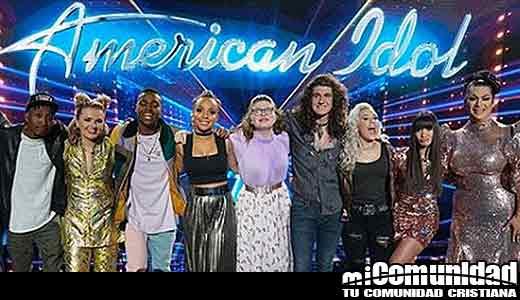 Cristianos dominan 'American Idol', ya que 6 de 10 concursantes proclaman fe en Dios