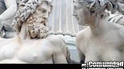 ¿Qué dioses griegos se mencionan en la Biblia?