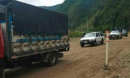 El temporal afecta movilidad y comercio entre Costa y Sierra
