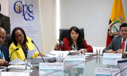 El CPCCS designará nuevo Contralor y otras autoridades.