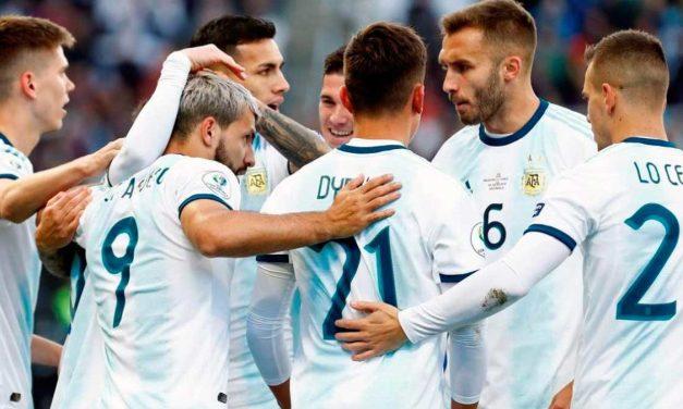 Copa America: Argentina gana 2 a 1 a Chile. Video.