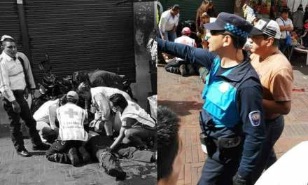 Policía fue apuñalado por evitar asalto.