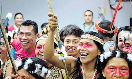 16 comunidades de Waoranis lograron triunfo ante el Gobierno ecuatoriano.