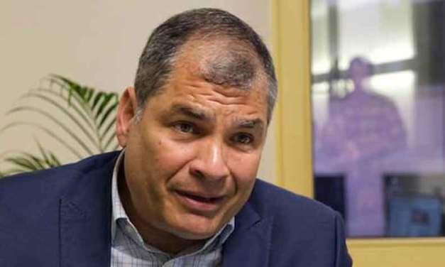 Rafael Correa no podrá ser sentenciado.