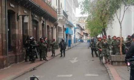 Evacuan el Palacio de Carondelet y sus alrededores por seguridad