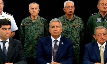 Presidente Moreno culpa a Correa y Maduro de intentar 'desestabilizarlo'