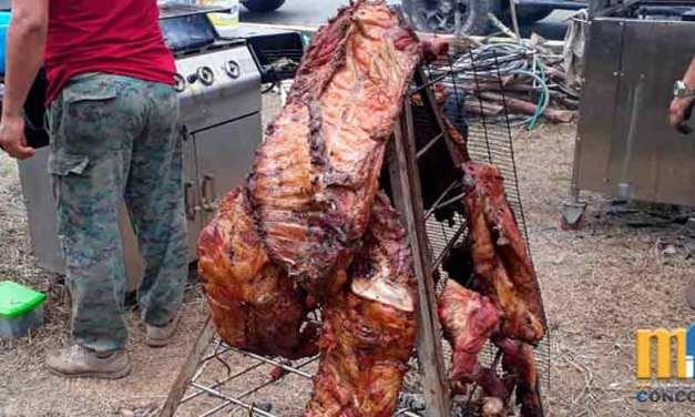 Se realizó «Festival de Carne Llanera». Fiestas La Concordia.