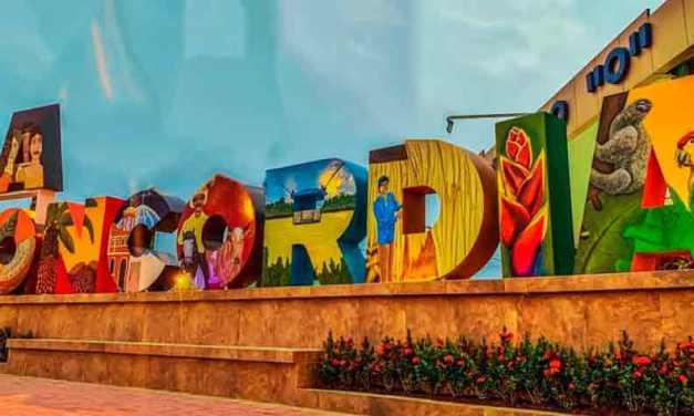Inauguración de las «Letras Corpóreas Turísticas» La Concordia