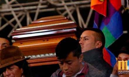 CONAIE declara 3 días de luto por las muertes en el paro nacional.