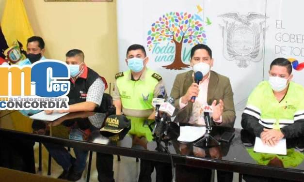 Mesa de Seguridad de la Provincia Tsáchila emitieron Plan Diciembre Seguro.